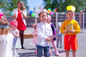 Праздник в частном детском саду